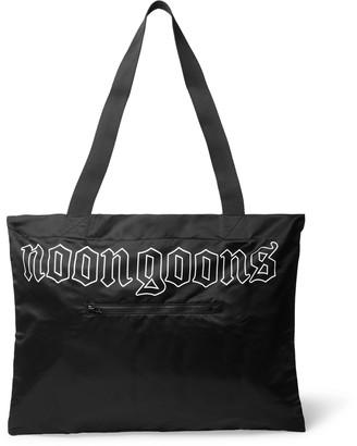 Noon Goons Logo-Print Shell Tote Bag