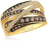 LeVian Le Vian Women's Le Vian Chocolatier Diamond & 14K Yellow Gold Band Ring