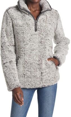 Thread and Supply Seven Wonders Fleece Quarter Zip Pullover
