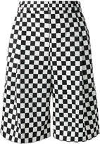 Givenchy checkered print shorts