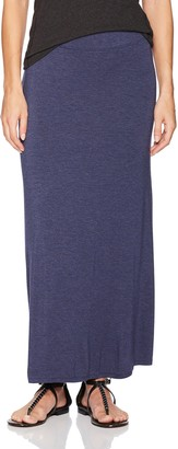 Kensie Women's Visoce Spandex Maxi Skirt