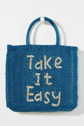 Take It Easy Woven Tote Bag