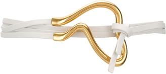 Bottega Veneta Buckle Detail Leather Belt