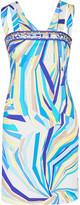 Emilio Pucci Printed stretch-cotton mini dress