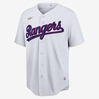 Nike Men's Cooperstown Baseball Jersey MLB Texas Rangers (Nolan Ryan)