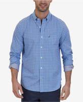 Nautica Men's Big & Tall Wrinkle Resistant Plaid Shirt