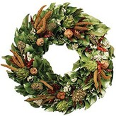 The Well Appointed House Dried Chilies & Artichokes Thanksgiving Wreath-Available in Three Different Sizes