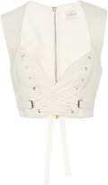 Zimmermann Corset Silk-Crepe Vest