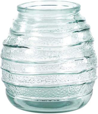 Uma Enterprises Soda Lime Glass Decorative Round Vase