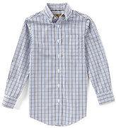 Class Club Gold Label Big Boys 8-20 Gingham Long-Sleeve Shirt