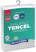 Protect A Bed Protect-A-Bed Tencel Pillow Protector with Side Vent (2-Pack)