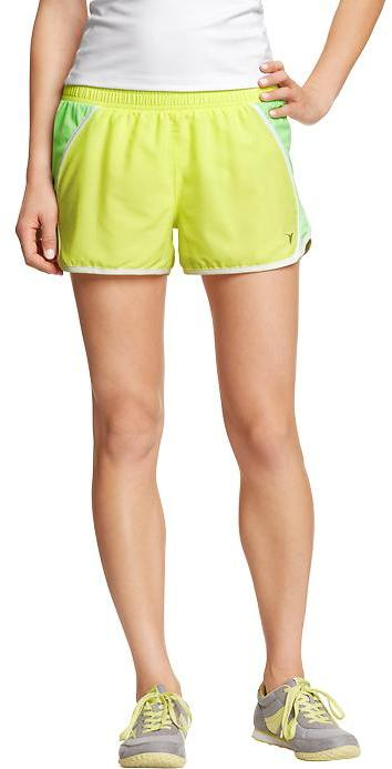 """Old Navy Women's Active by Side-Mesh Running Shorts (3"""")"""
