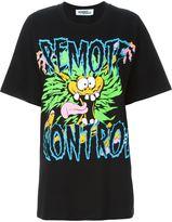 Jeremy Scott remote control print T-shirt - women - Cotton - S