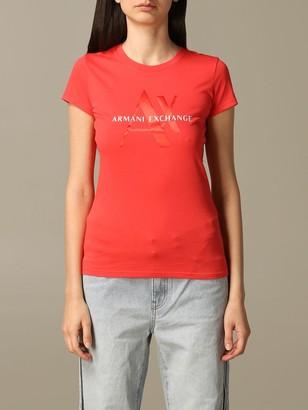 Armani Collezioni Armani Exchange T-shirt Armani Exchange T-shirt With Logo