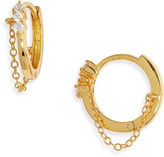 Argentovivo Huggie Hoop Earrings