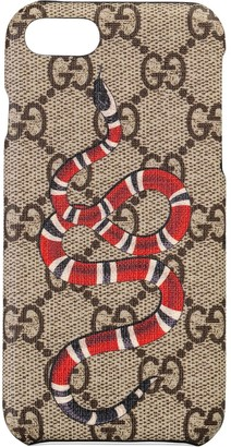 Gucci Kingsnake print iPhone 8 case