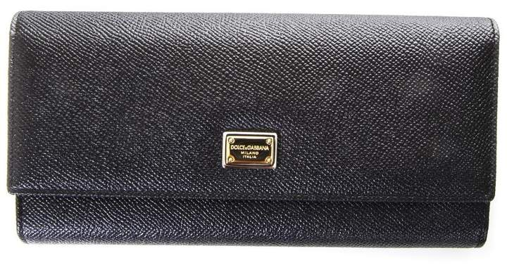 Dolce & Gabbana Dauphine Leather Wallet
