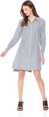 French Connection Women's Tie Waist Detail Shirt Dress