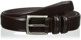 Alexander Julian Men's Big-Tall Double Loop Dress Belt