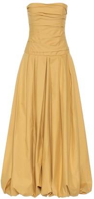 KHAITE Ingrid cotton maxi dress