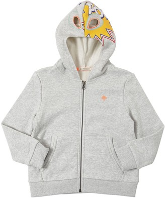 Billybandit Cotton Sweatshirt Hoodie W/ Cut-outs