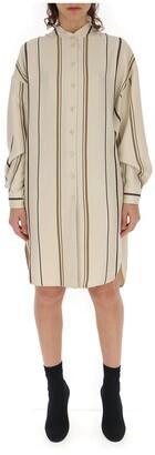 Alberta Ferretti Striped Tunic