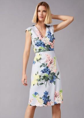 Phase Eight Frannie Floral Scuba Dress