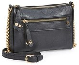 BP Junior Women's Double Stud Crossbody Bag - Black