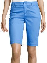 ST. JOHN'S BAY St. John's Bay Secretly Slender Bermuda Shorts