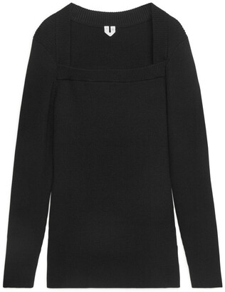 Arket Square-Neck Jumper