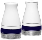 "Noritake Crestwood Cobalt Platinum"" Salt and Pepper Set"