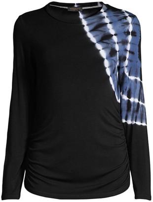 Donna Karan Tie-Dye Long-Sleeve T-Shirt