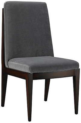 Mr & Mrs Howard Livingston Side Chair - Slate Velvet