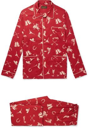 Ralph Lauren RRL Printed Woven Pyjama Set