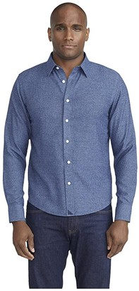 UNTUCKit Wrinkle-Free Veneto Shirt (Blue) Men's Clothing