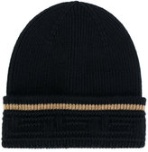 Versace greek key beanie