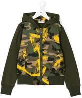 Moncler camouflage print jacket