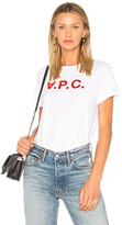 A.P.C. VPC Tee in White. - size L (also in )
