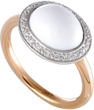 Mimi 18K Two-Tone 3.10 Ct. Tw. Diamond & Agate Ring
