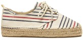 Sole Society Oxford Lace Up Platform Espadrille Platform