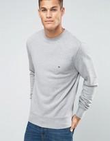 Tommy Hilfiger Sweatshirt With Flag Logo In Grey