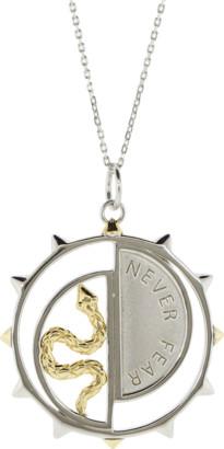 Monica Rich Kosann Never Fear Medallion