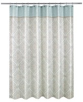 Nobrand No Brand Balmoral -Option A Shower Curtain - Blue (Print) - Allure