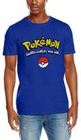 Pokemon Men's Logo Gotta Catch Em All T-Shirt