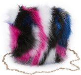 Charlotte Russe Faux Fur Crossbody Bag