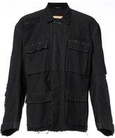 R 13 oversized denim jacket