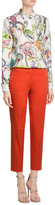Etro Cropped Cotton Pants