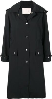 MACKINTOSH Black Hooded Coat LM-098ST