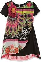 Desigual Girl's Vest_Bissau Dress,(Manufacturer Size: 7/8)