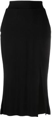 Thom Krom Front Slit Skirt